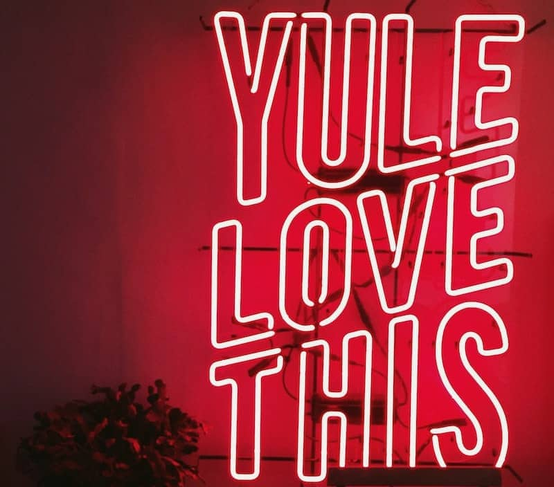 coffee puns yule love