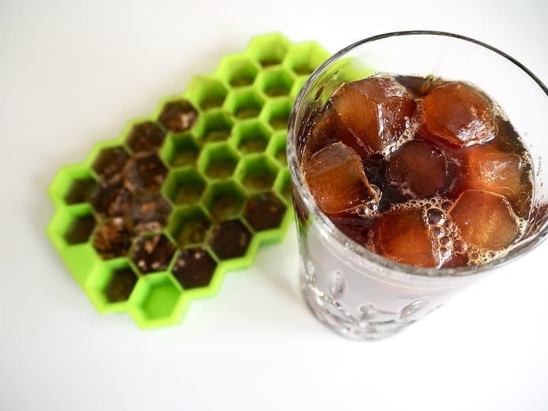how to make coffee ice cubes