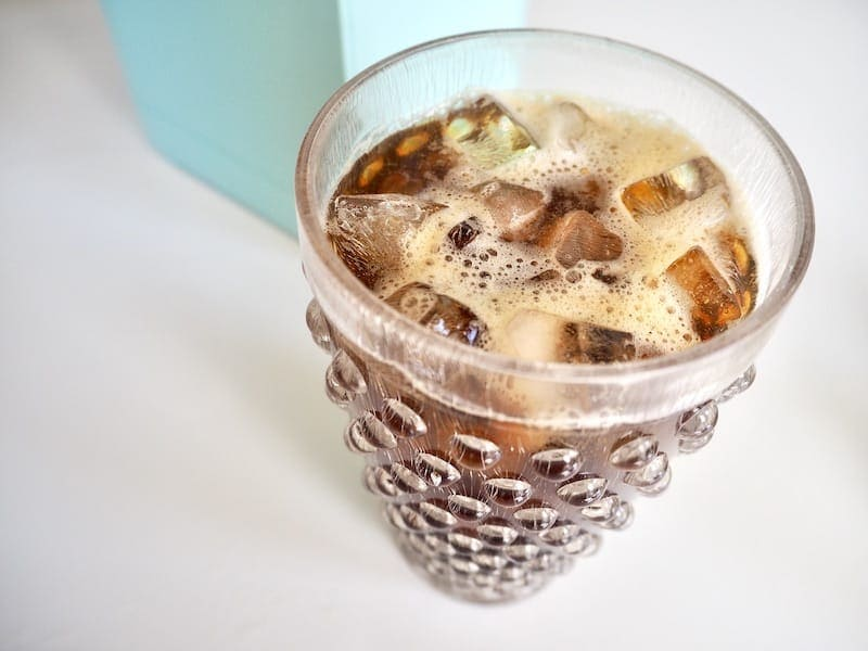 strong Keurig iced coffee
