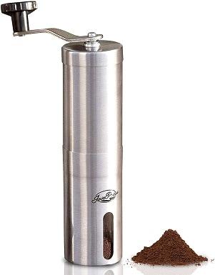 1JavaPresse Manual Coffee Grinder with Adjustable Setting