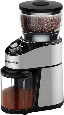 3Conical Burr Coffee Grinder Electric