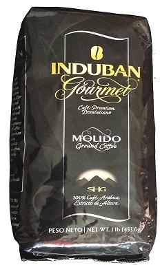 5Induban Gourmet Ground Coffee Dominican Republic