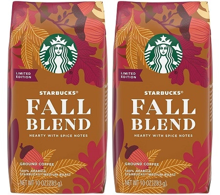 9Starbucks Fall Blend
