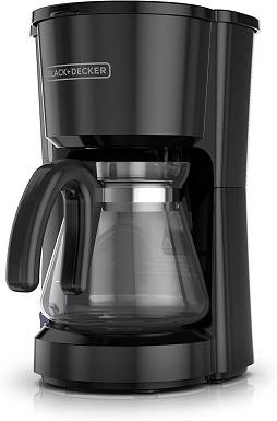 BLACK+DECKER 5-Cup Coffeemaker