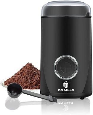 DR MILLS DM-7441 Electric Dried Spice and Coffee Grinder