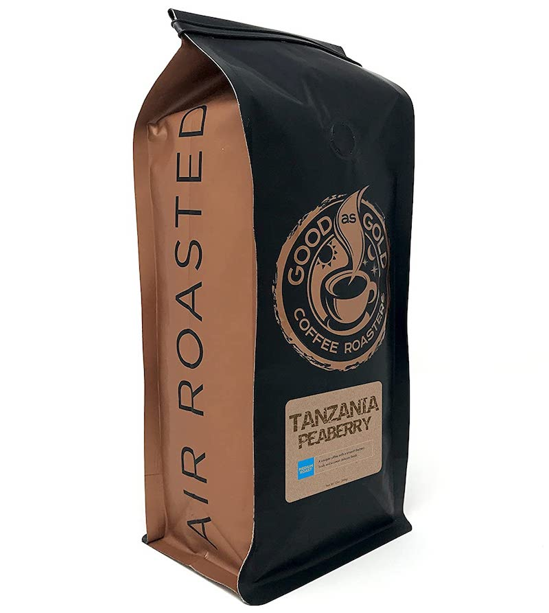 Good as Gold Tanzanian peaberry coffee