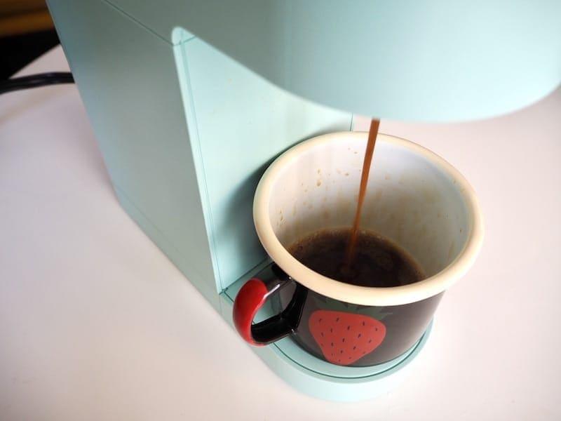 Keurig espresso brewing