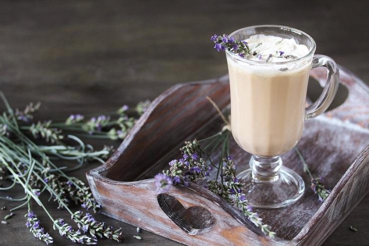 Lavender Coffee latte