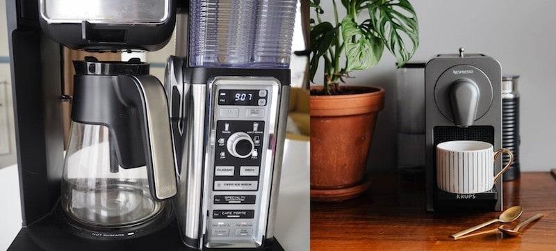 Ninja Coffee Bar vs Nespresso