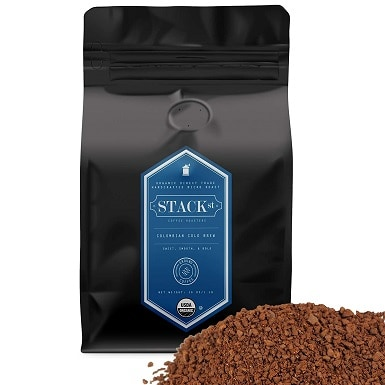 Organic Cold Brew Coffee Grounds