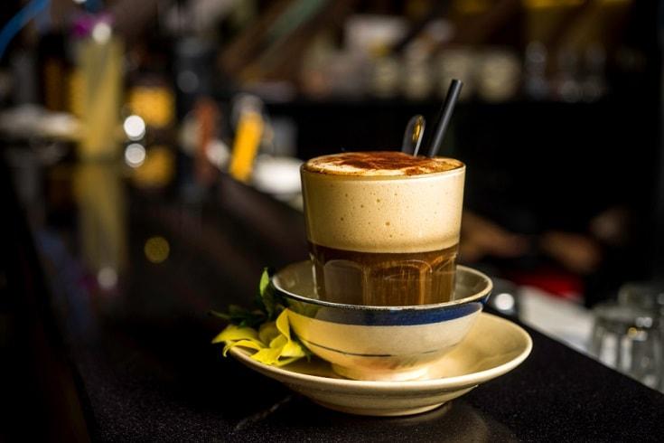 Vietnamese Egg Cream Coffee