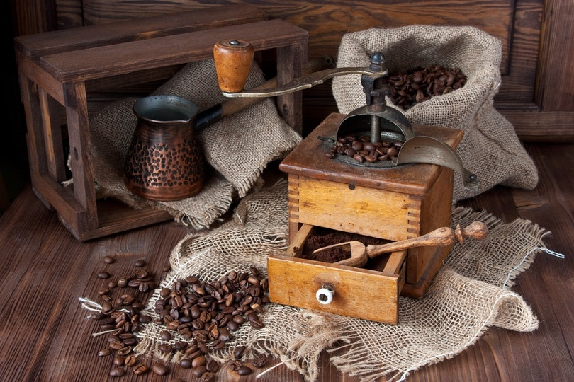 Vintage turk copper coffee pot_amberto4ka_shutterstock