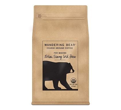 Wandering Bear Organic Coarse Ground Coffee