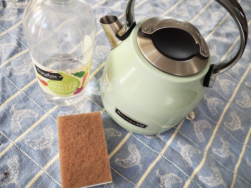 clean electric kettle