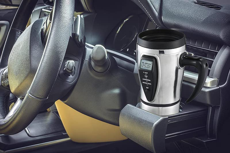 heated smart travel mug
