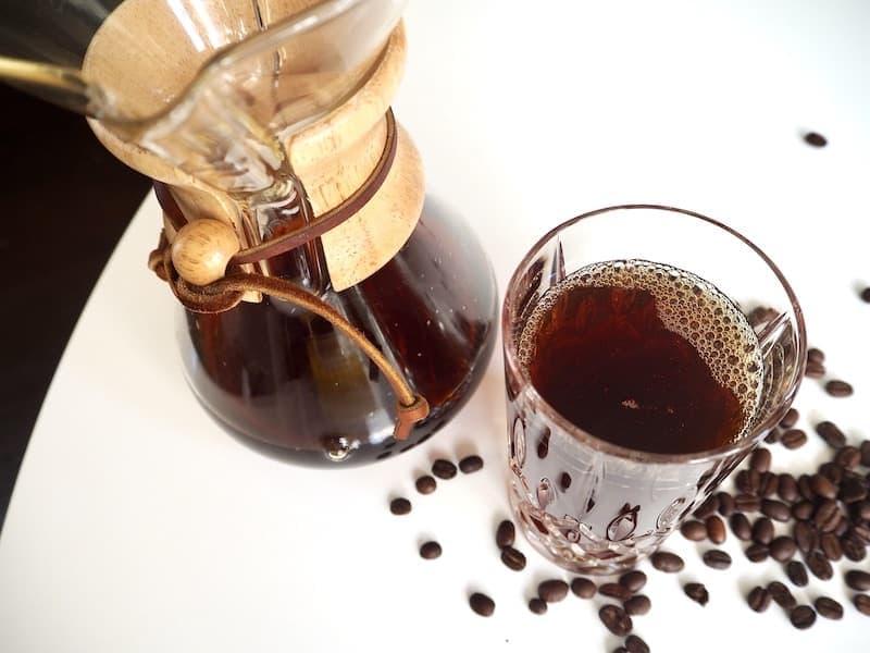 how to make Chemex iced coffee