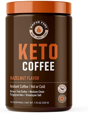1Rapid Fire Hazelnut Ketogenic Coffee