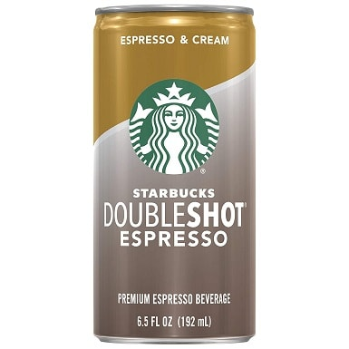 1Starbucks Doubleshot, Espresso + Cream