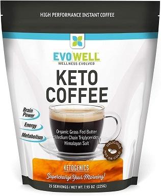 4EVOWELL Keto Brown Coffee