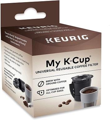 4Keurig Universal Reusable Filter, Single Stream Design