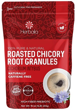 9Chicory Root Roasted Granules