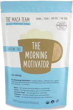 9The Maca Team The Morning Motivator Maca Coffee