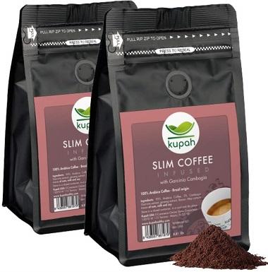 9Weight Loss Coffee Kupah Slim Blend Ground Coffee Two Bags