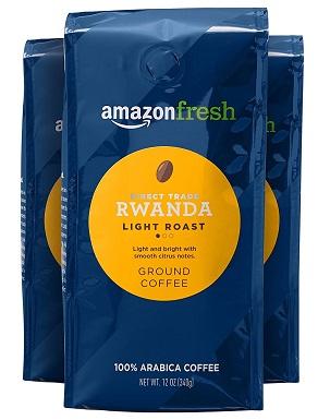 AmazonFresh Direct Trade Rwanda Ground Coffee