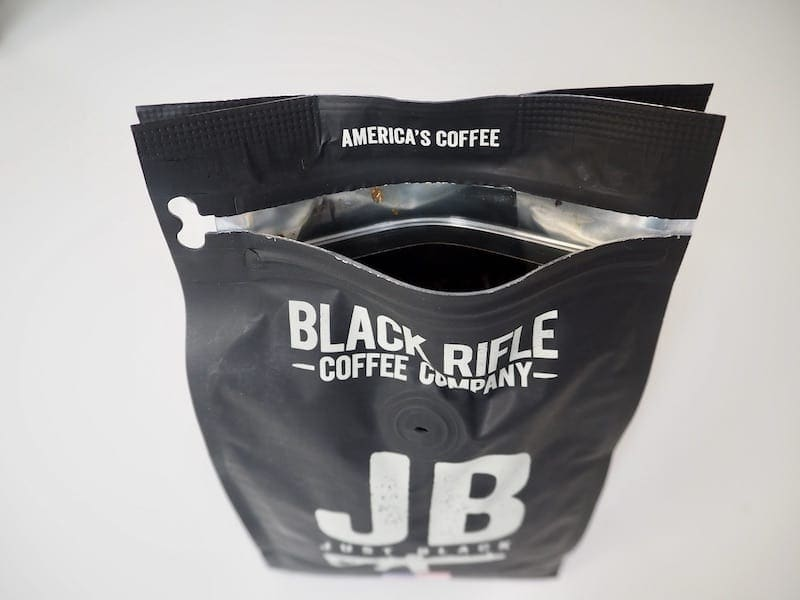 Black Rifle Coffee Company packaging