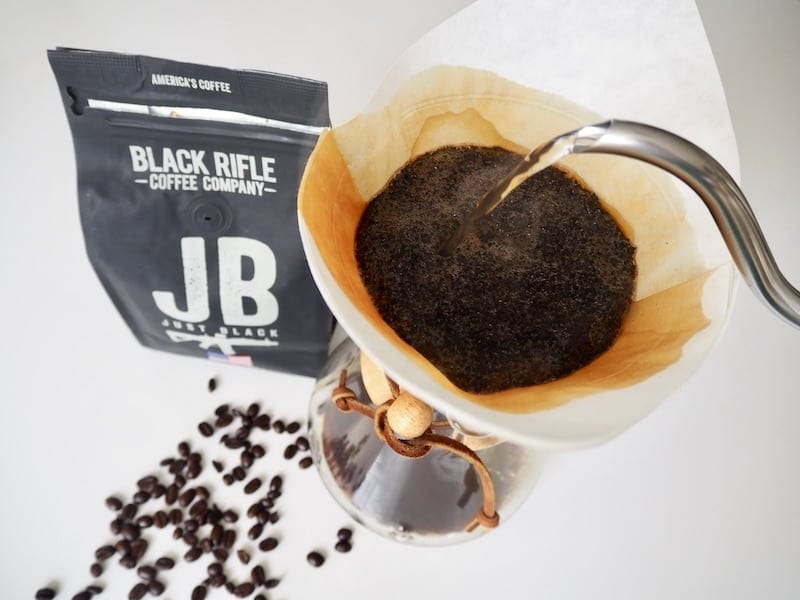 Black Rifle Coffee brewing