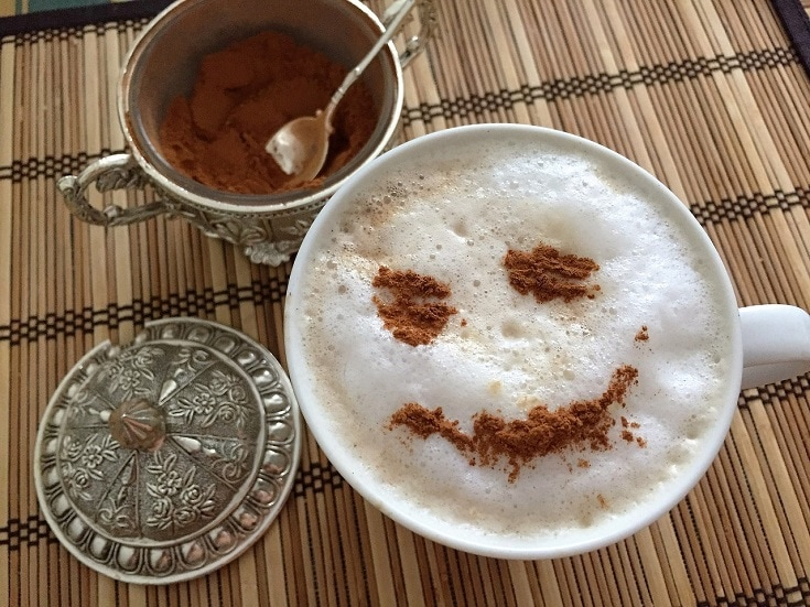 Cinnamon Powder and Coffee