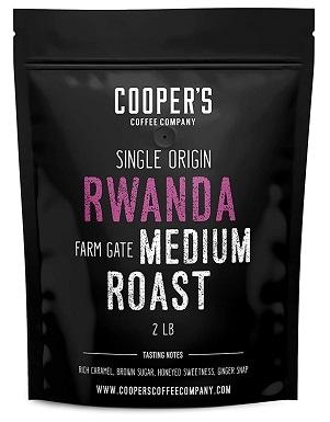 Cooper's Rwanda Full Bodied Coffee Beans