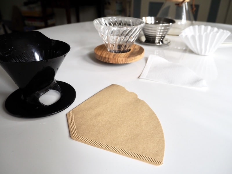 brown vs white coffee filters