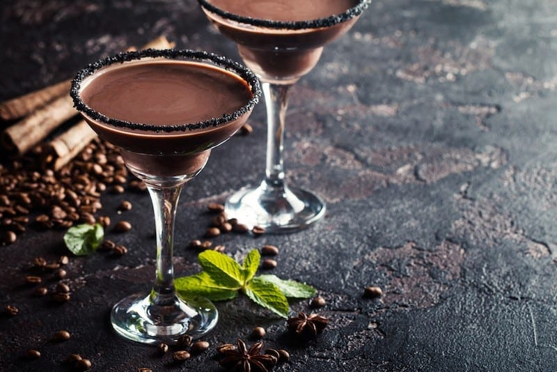 coffee cocktail martini