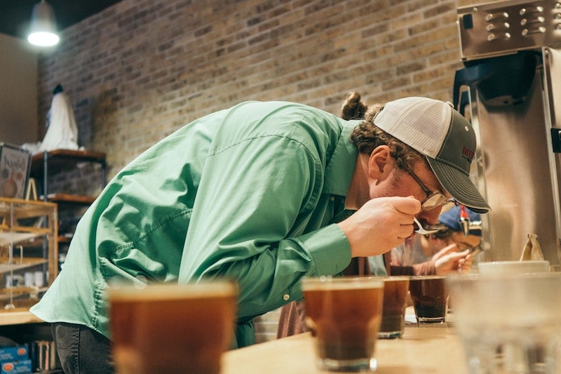 coffee cupping tasting