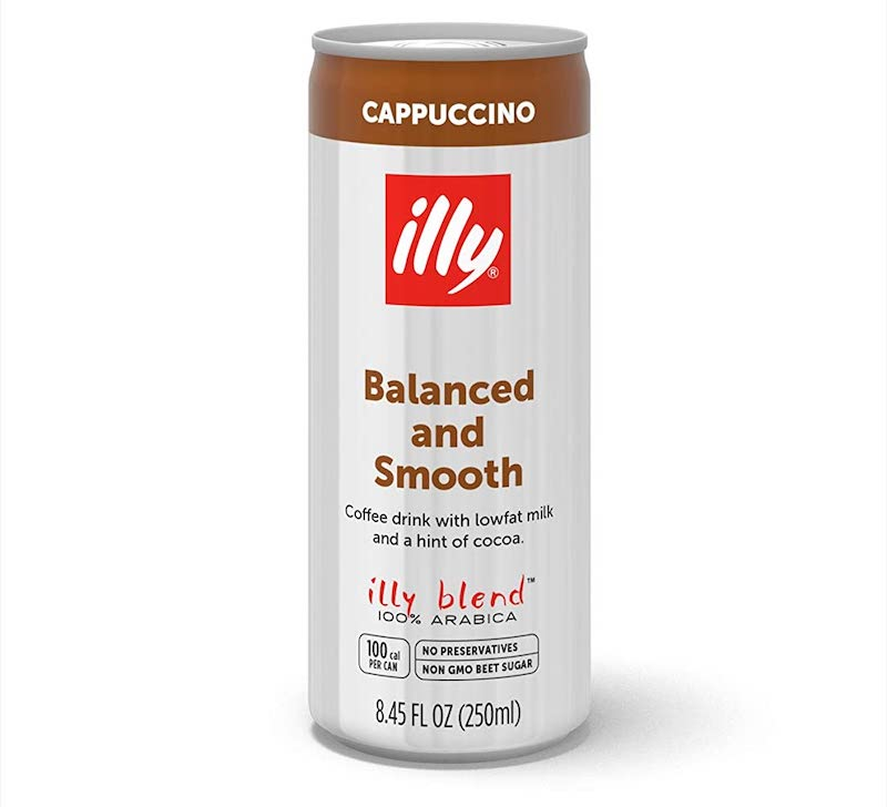 illy cappuccino canned