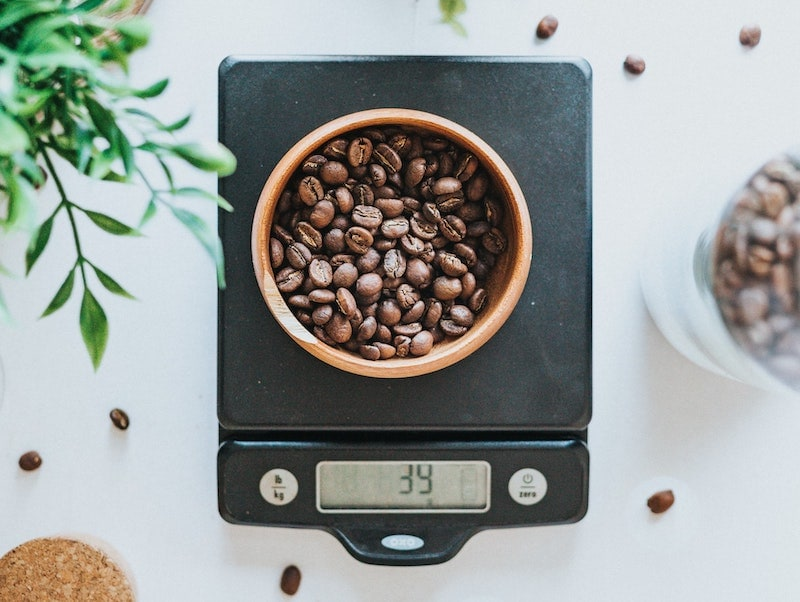 weigh coffee scale