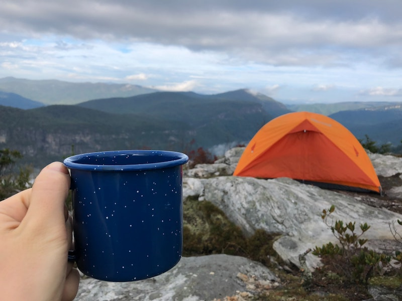 French press for camping