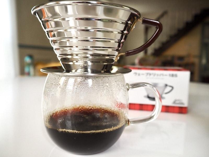 Kalita Wave coffee brewing recipe