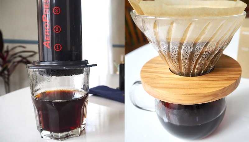 aeropress vs pour over coffee makers