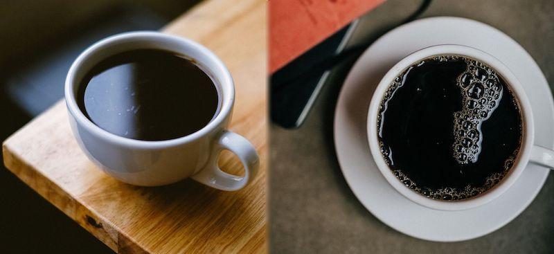 americano vs black coffee
