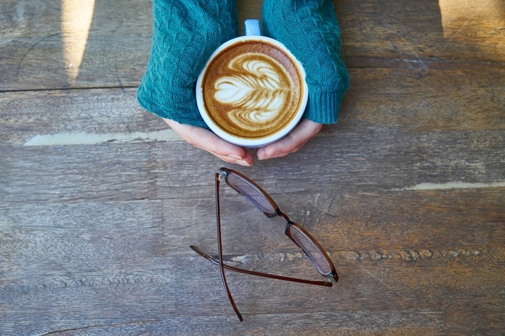 coffee and eyewear