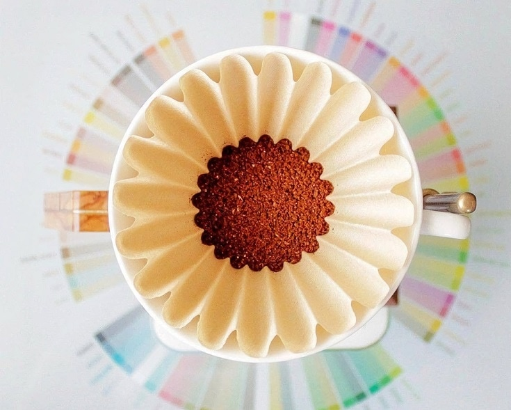 coffee filter art