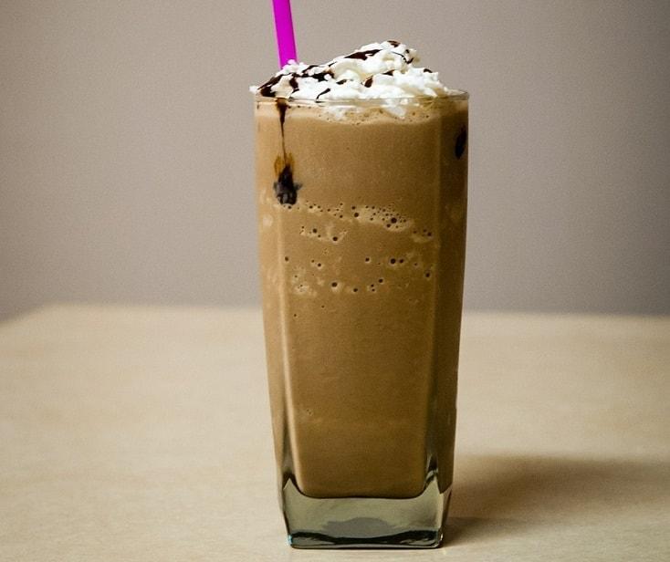 delicious frozen coffee
