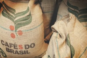 Brazil coffee bags