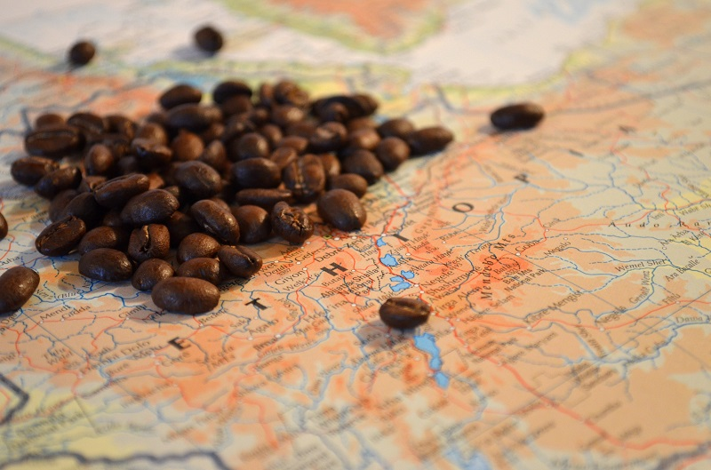 Coffee Bean Map
