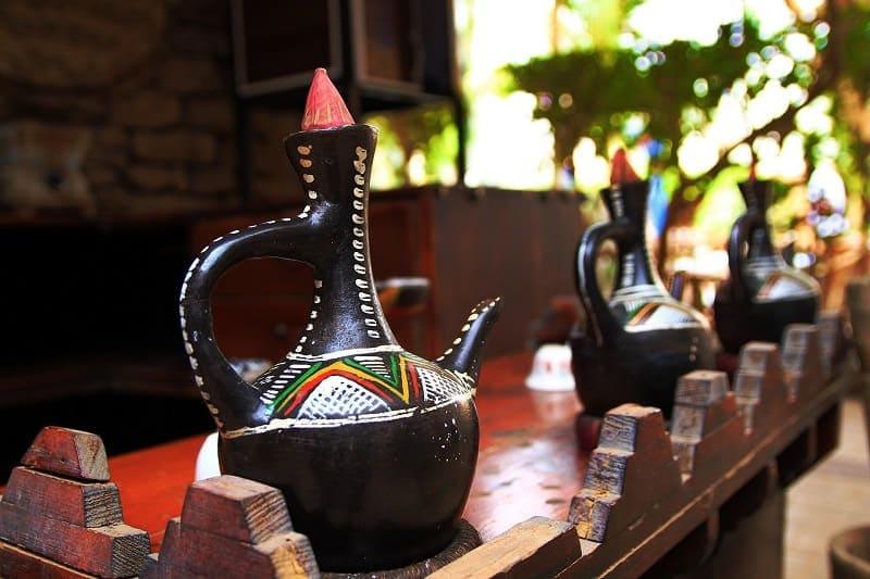 Ethiopian Coffee Jars