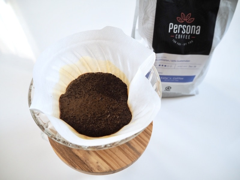 Persona Coffee brewing