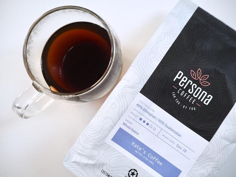Persona Coffee custom blend