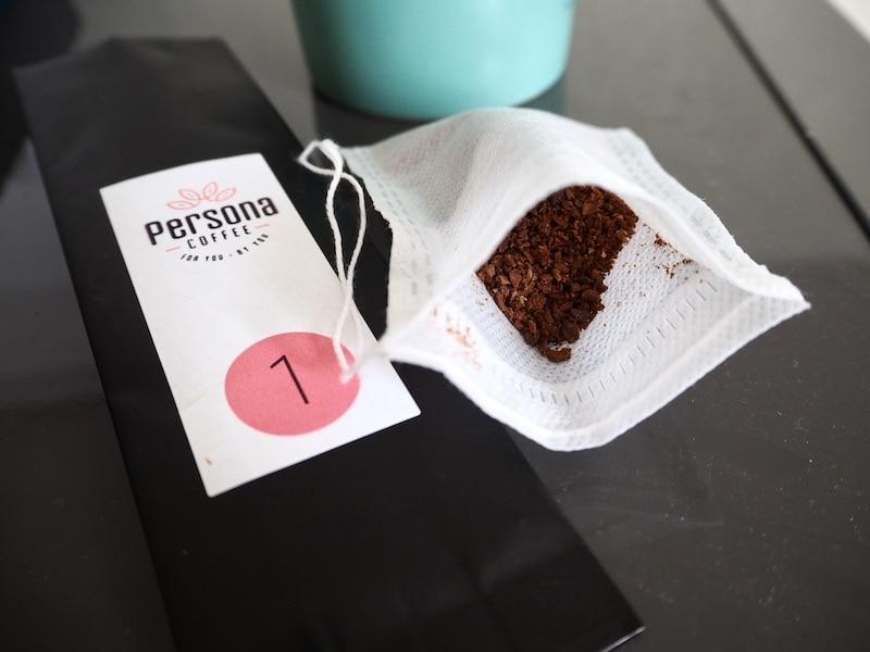Persona Coffee tasting kit samples